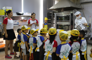 Tailijie Application Center Invited Children to Make Sugar-Free Cookies